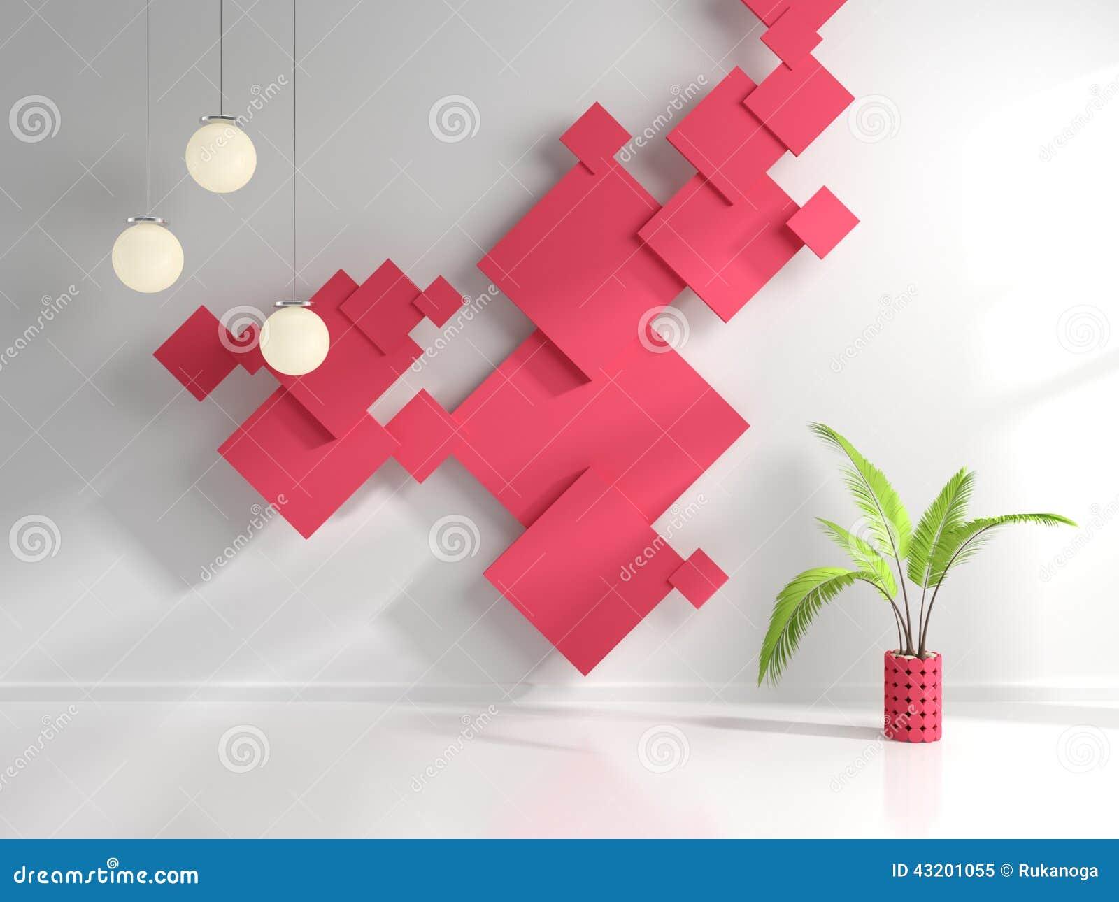 Download Inre modernt stock illustrationer. Illustration av lampa - 43201055