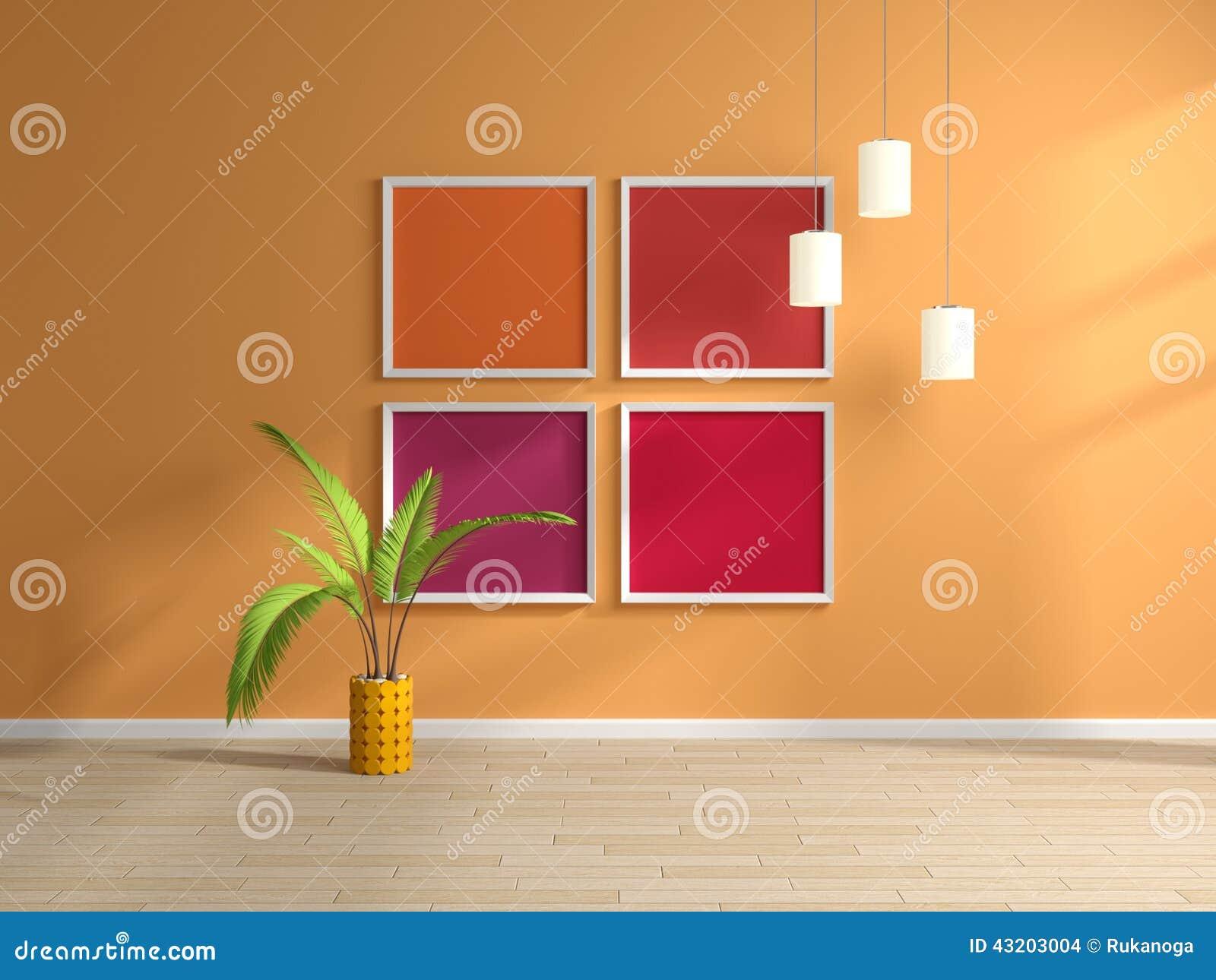 Download Inre modernt stock illustrationer. Illustration av inom - 43203004