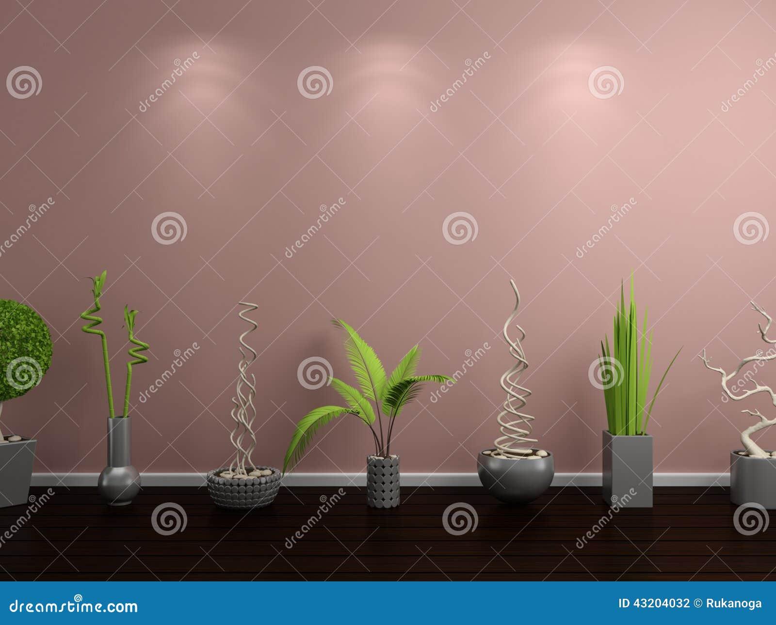 Download Inre modernt stock illustrationer. Illustration av bygger - 43204032