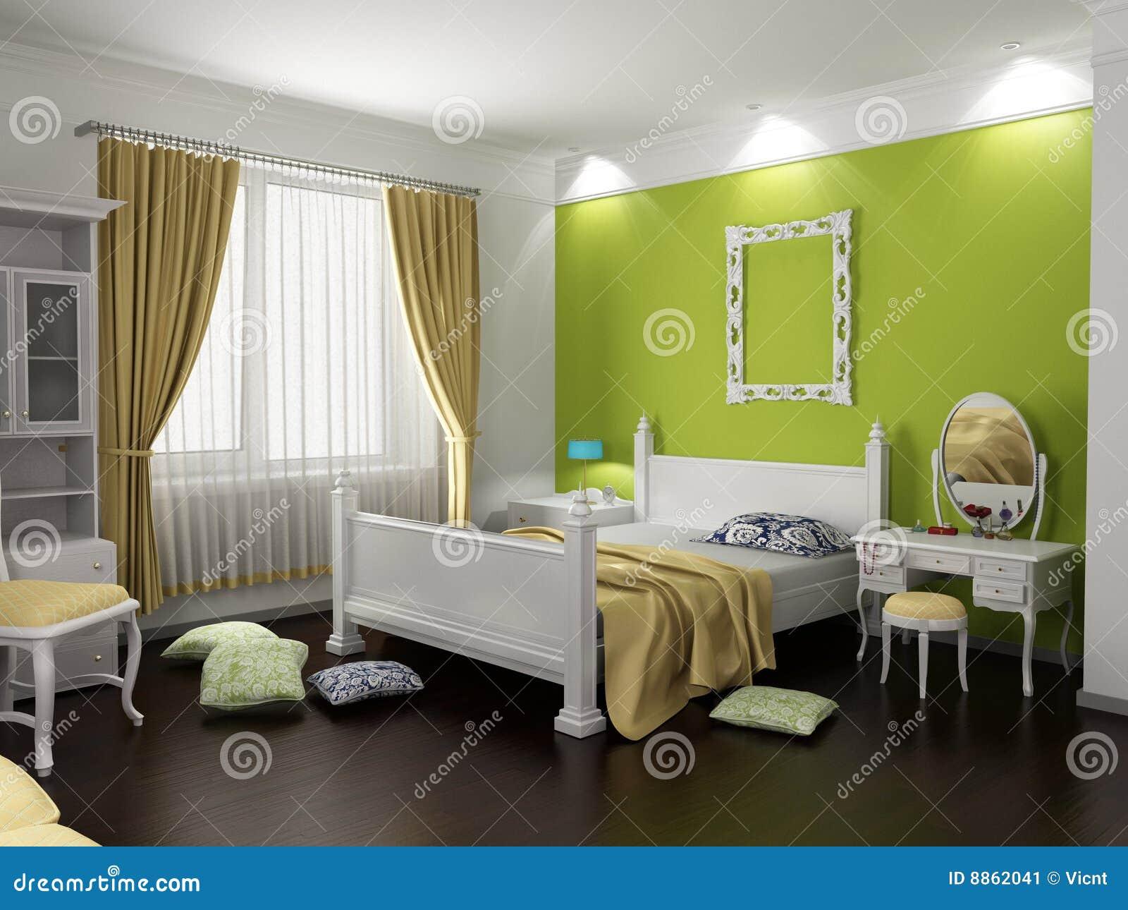Inre modernt för sovrum fotografering för bildbyråer   bild: 8862041