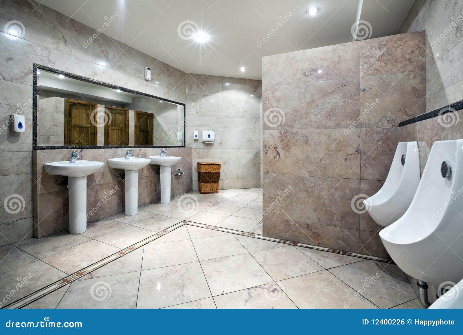 Inre offentlig toalett