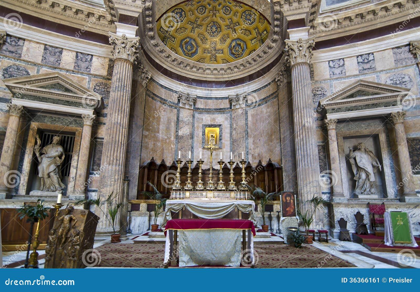 Inre panteon - Rome