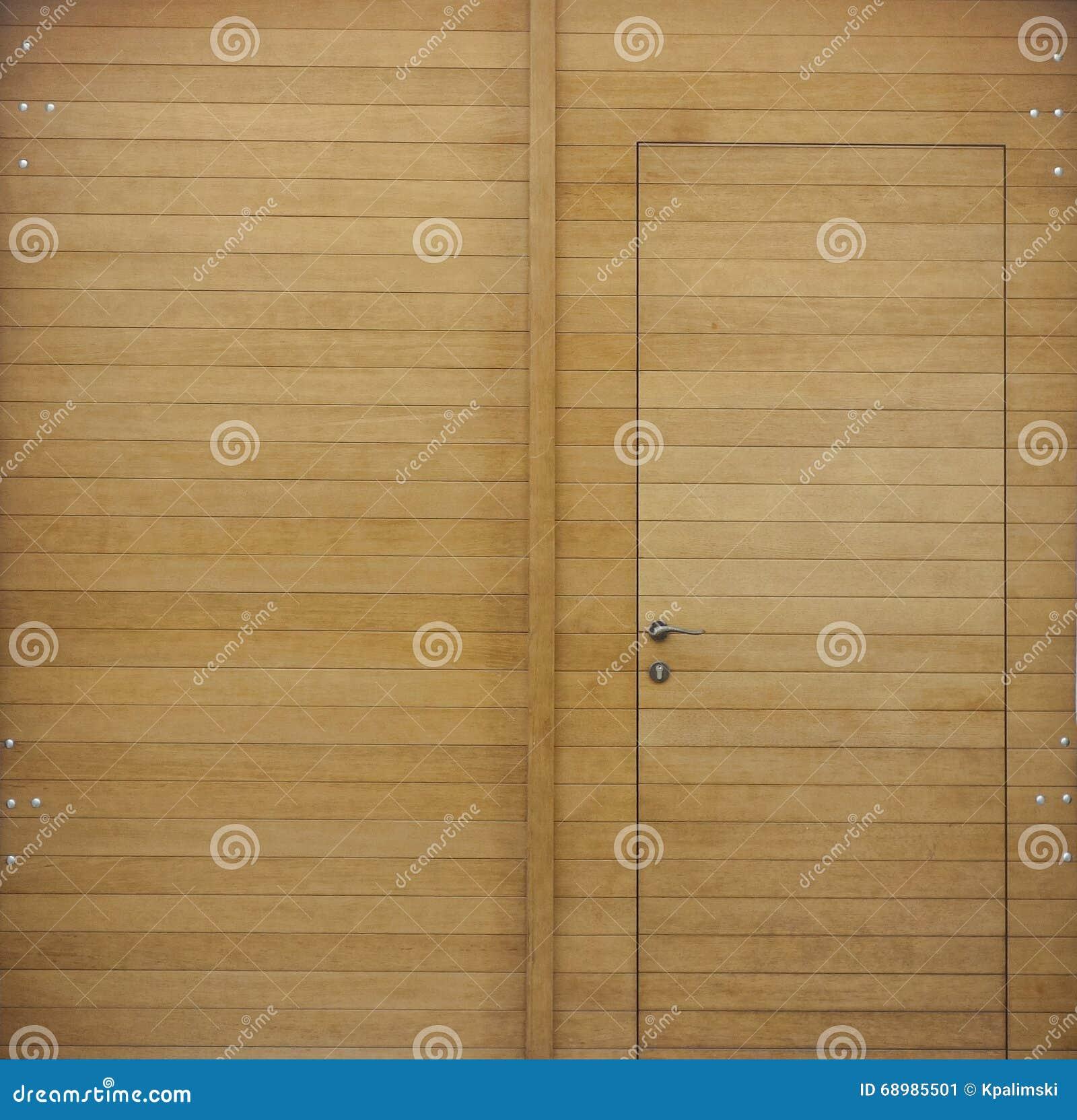 Inre trä för dörr