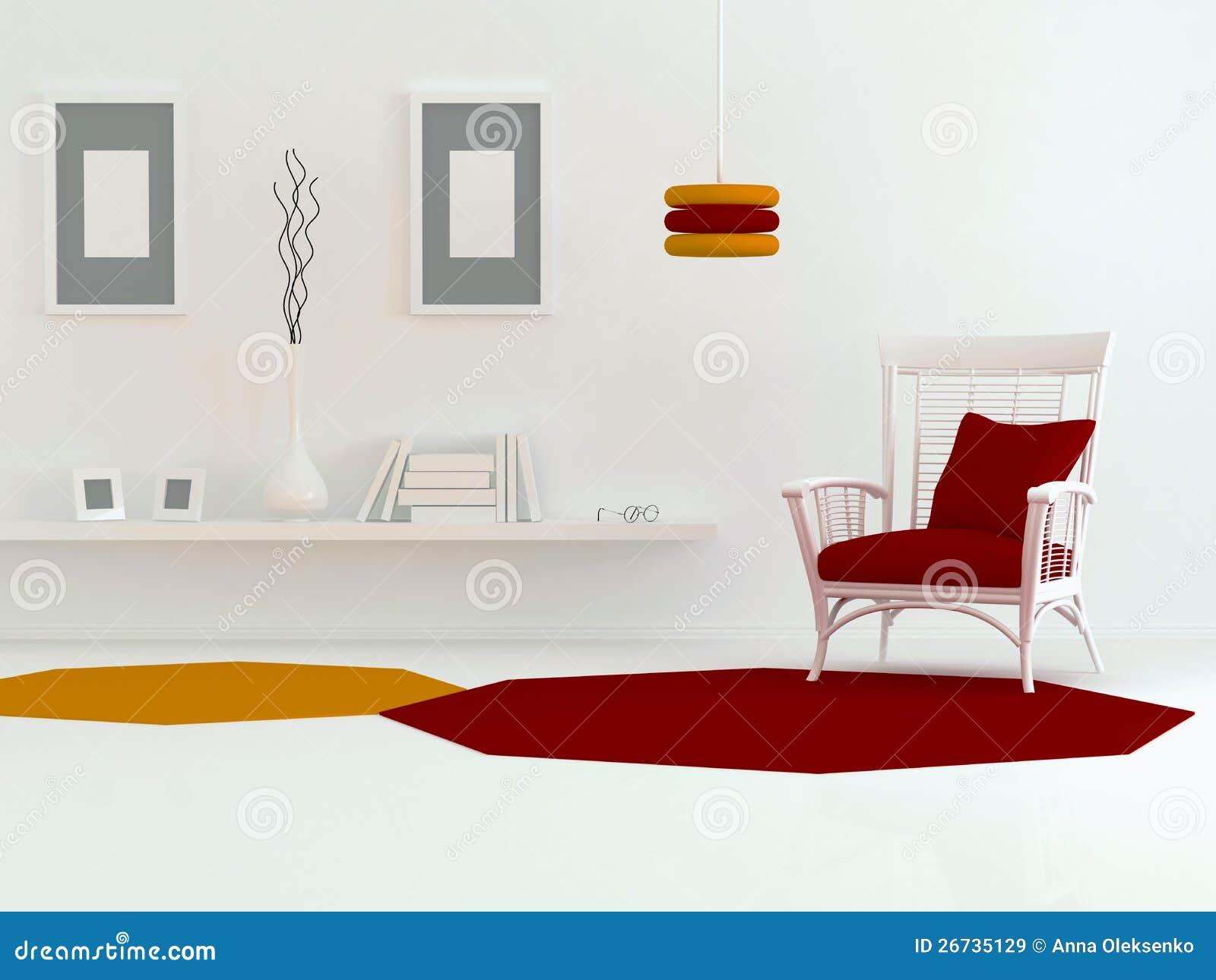 Inredesign av modernt vardagsrum royaltyfria bilder   bild: 26735129