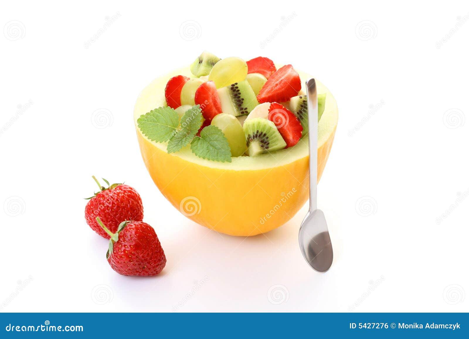 Insalata al gusto di frutta