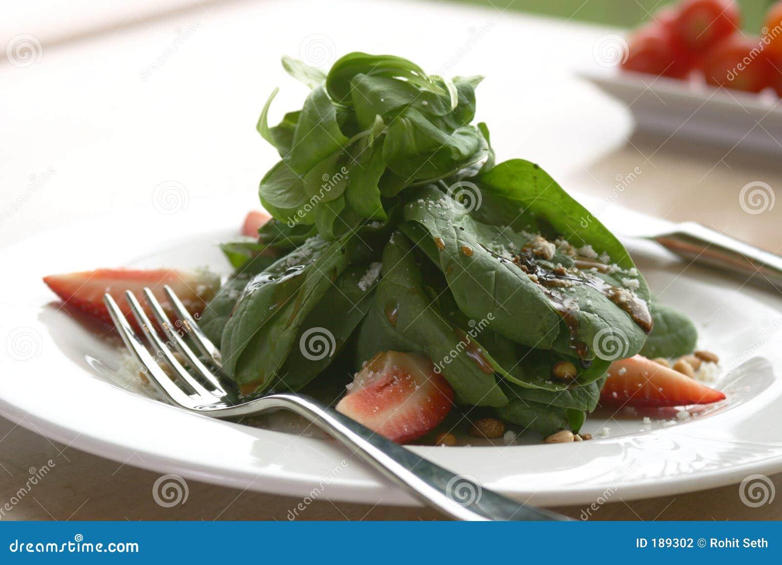 Insalata degli spinaci