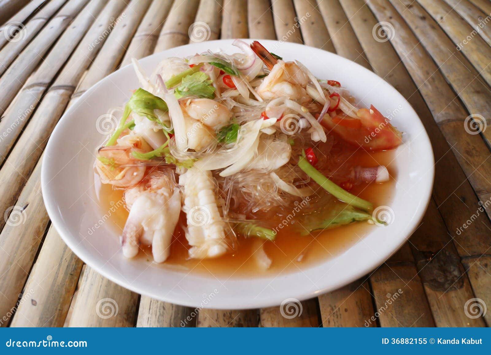 Download Insalata Dei Frutti Di Mare Immagine Stock - Immagine di mangi, foodstuffs: 36882155