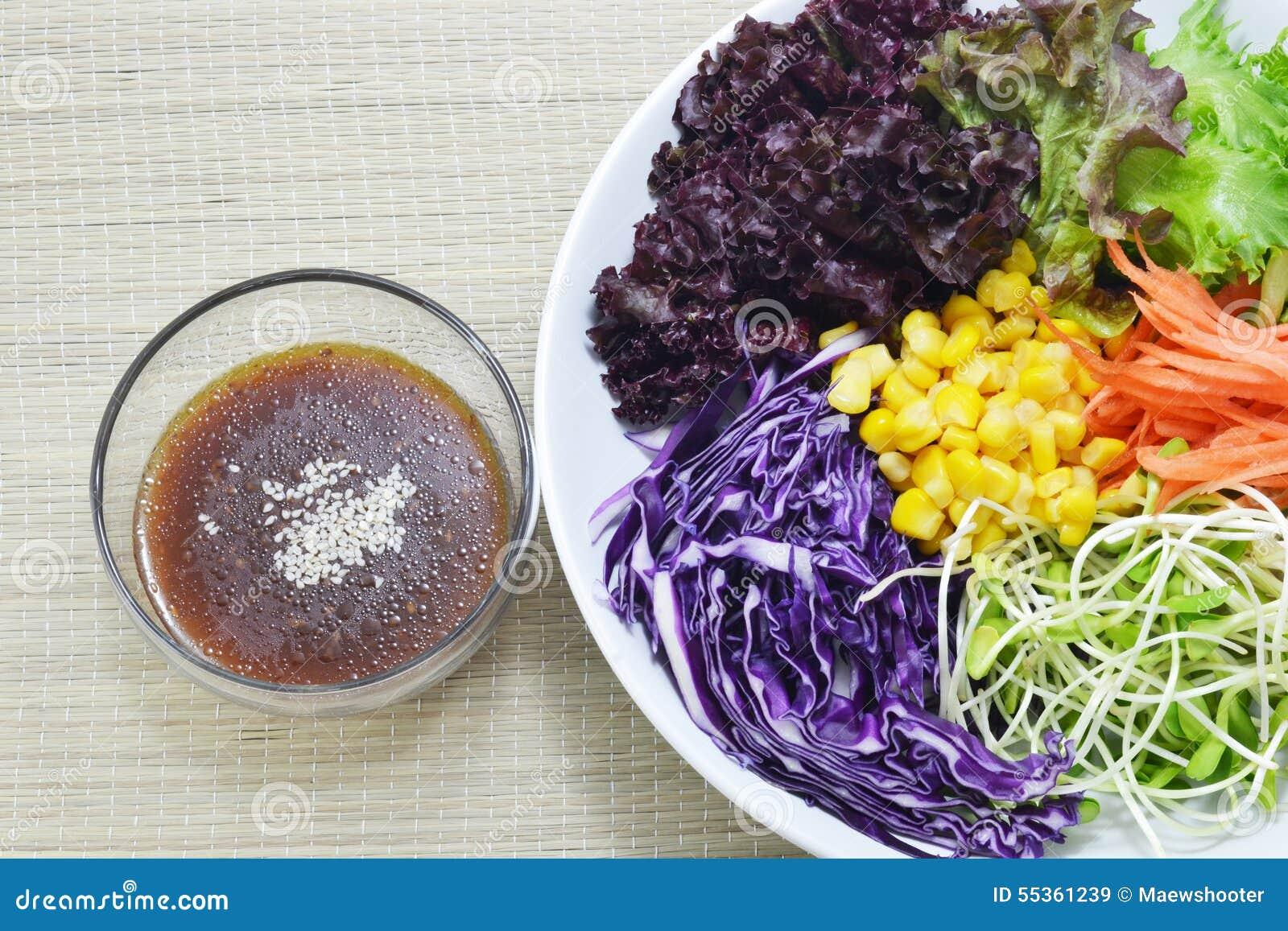 Insalata e salsa