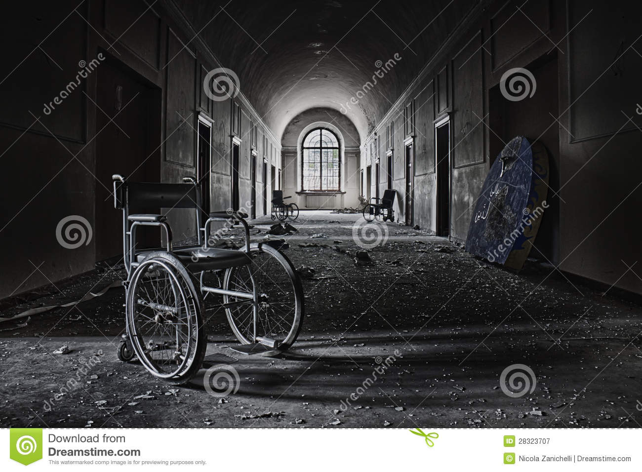 Insane Asylum Royalty Free Stock Photography - Image: 28323707