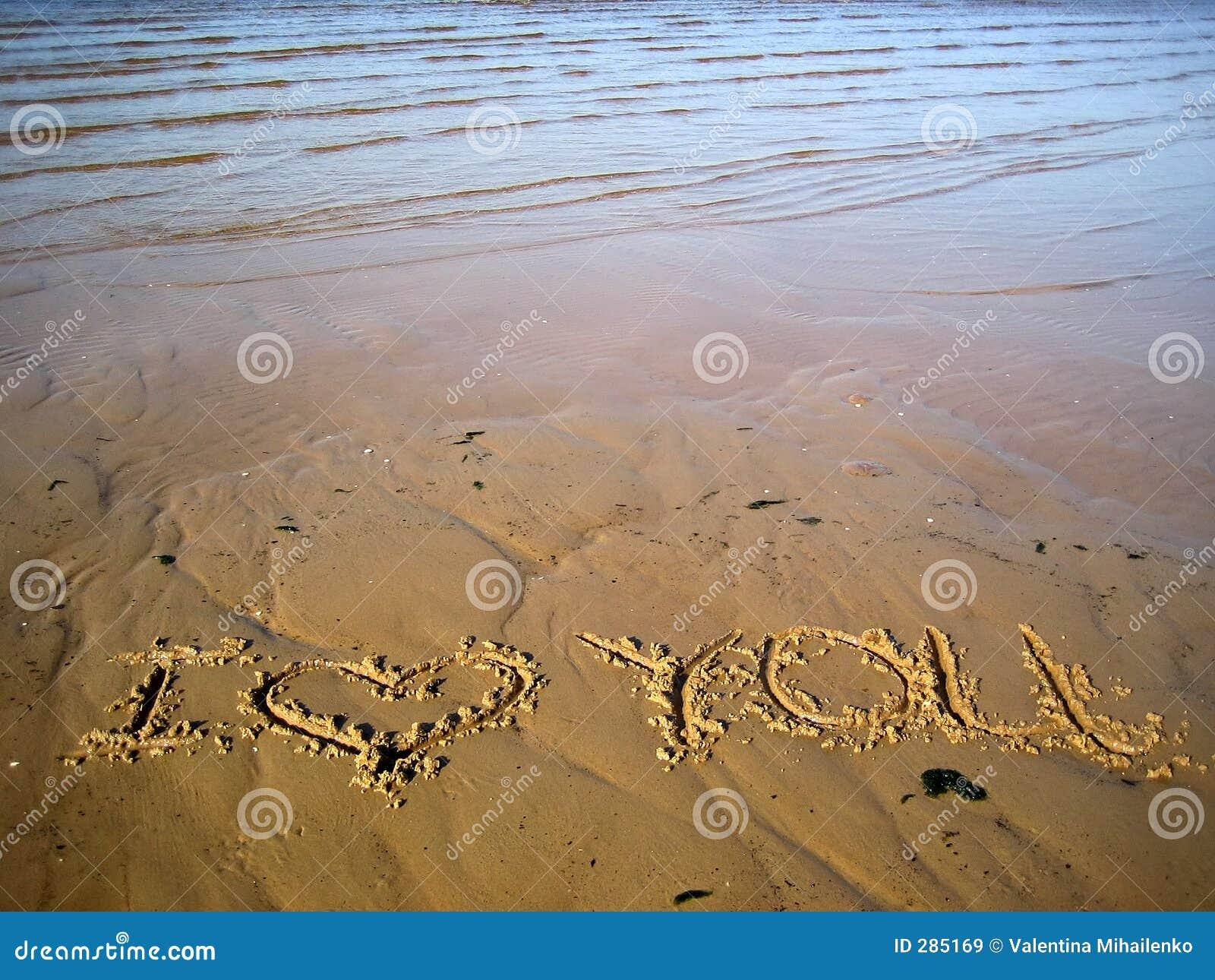 Inschrijving op zand