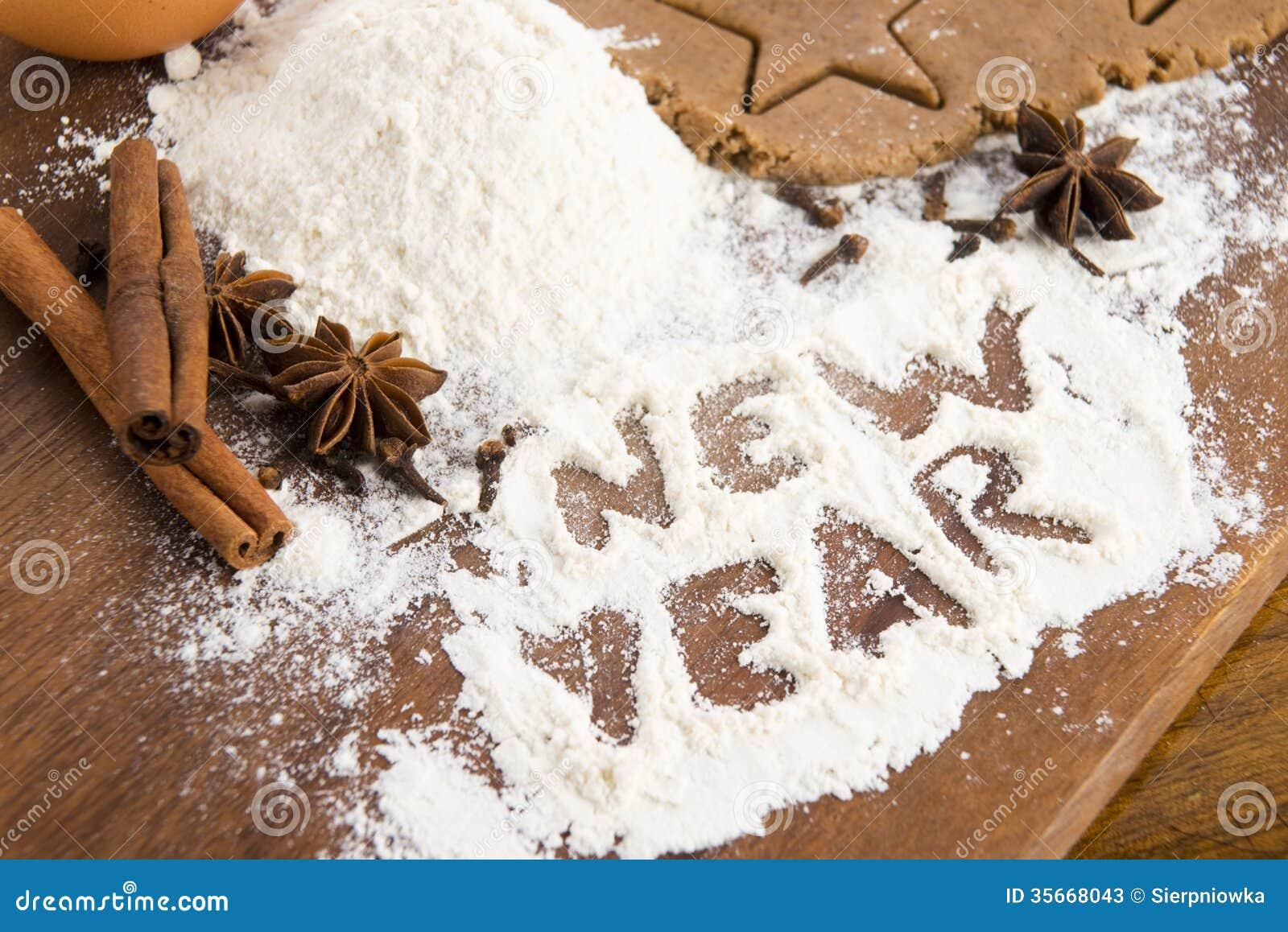 A inscrição na farinha - ano novo