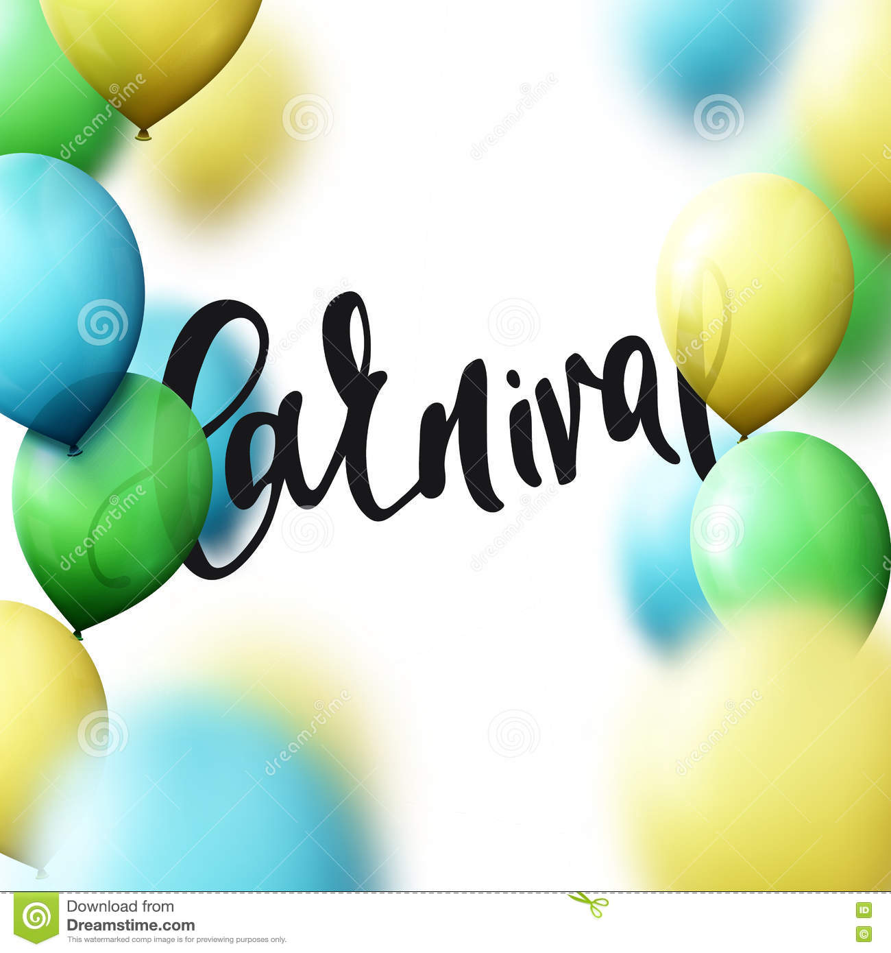 Handmade watercolor brazil flag brasil stock photos freeimages com - Inscription Carnival Background With Balloons Colors Of Brazilian Flag Royalty Free Stock Photos