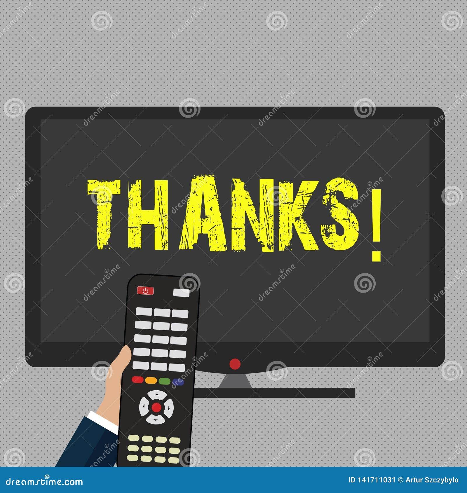 Inscription de la note montrant des mercis Gratitude de présentation de reconnaissance de salutation d appréciation de photo d af