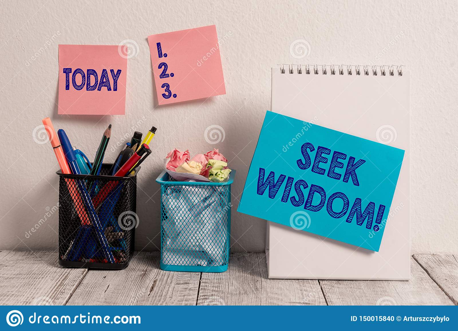 Inscription de la sagesse de recherche d apparence de note Capacit? de pr?sentation de photo d affaires de penser l acte utilisan
