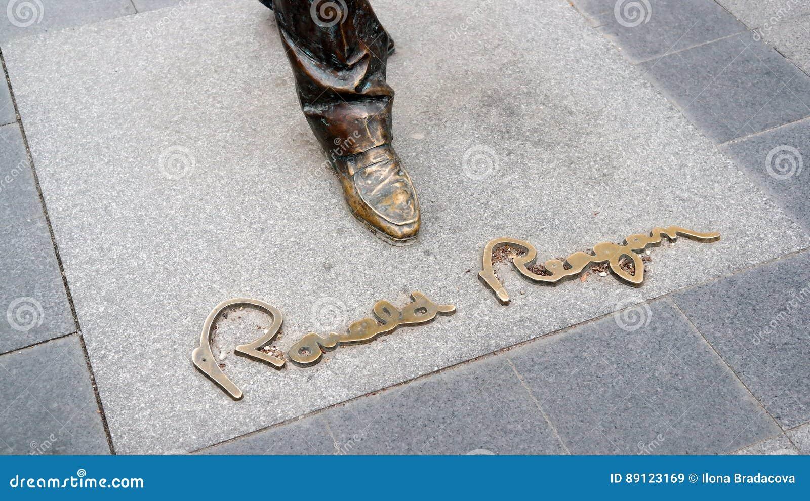 Inscription de Ronald Reagan