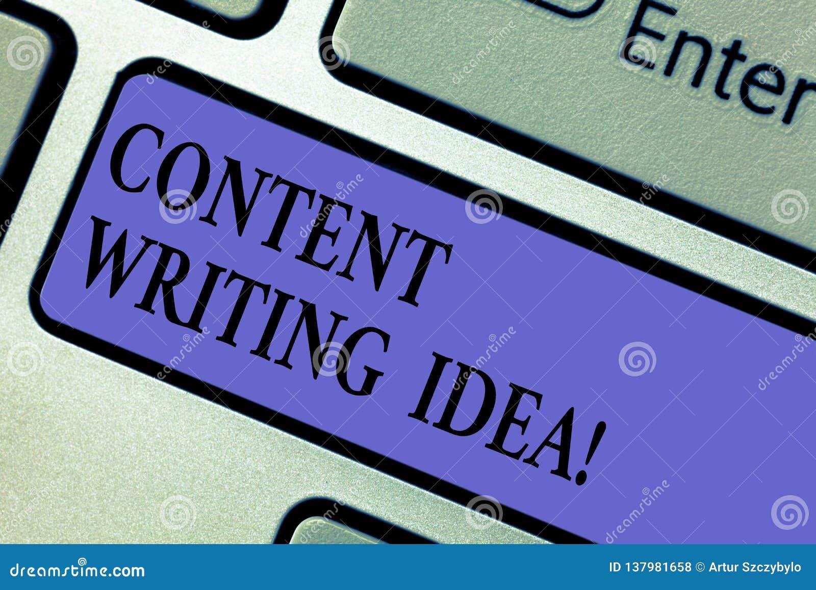 Inscription du contenu d apparence de note écrivant l idée Concepts de présentation de photo d affaires sur écrire des campagnes