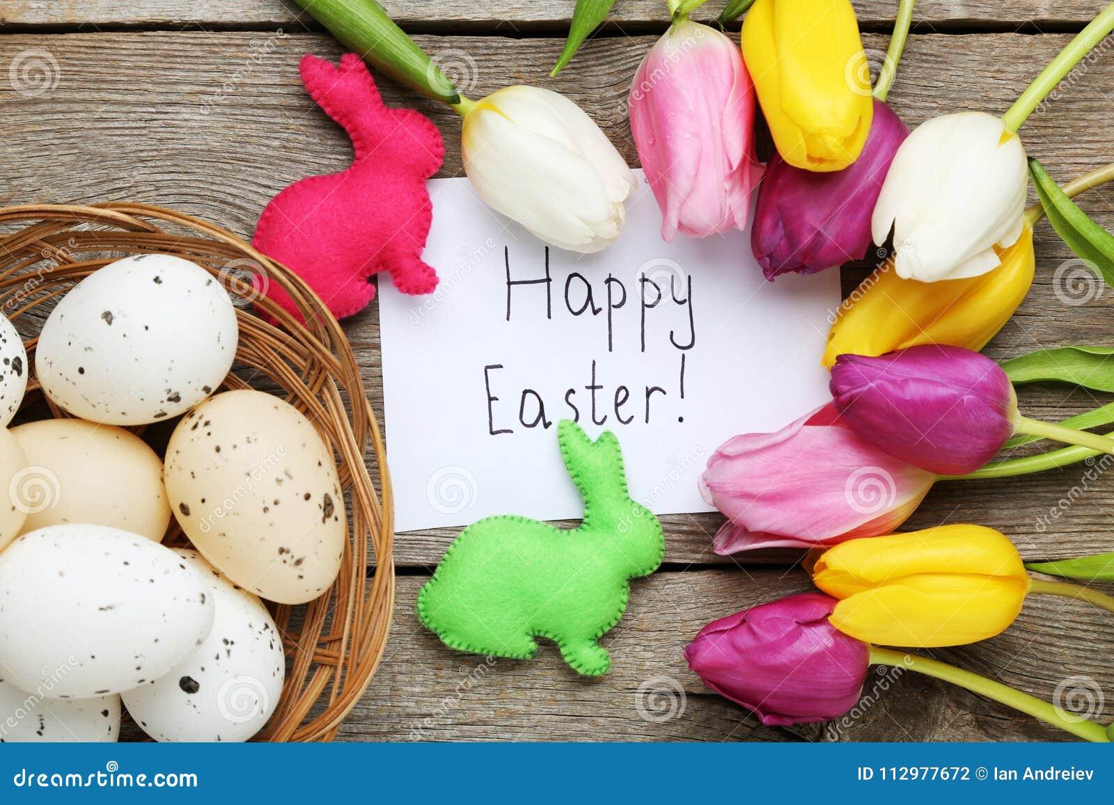 Inscription Happy Easter