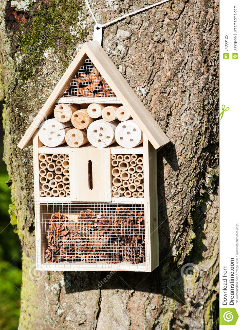 Insect Hotel Royalty Free Stock Photo - Image: 34360125