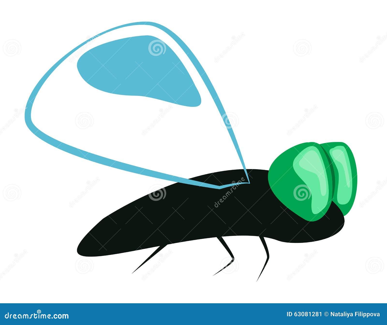 Download Insecte de vol abstrait illustration de vecteur. Illustration du vecteur - 63081281