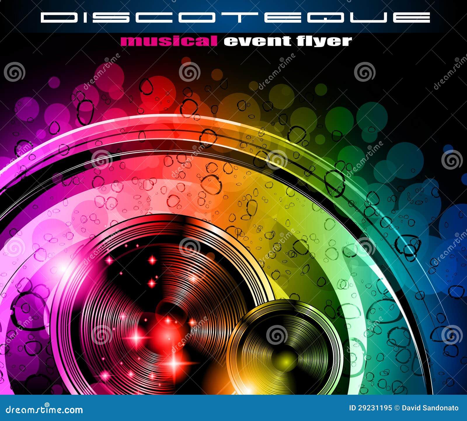 Download Insecto do clube do disco ilustração do vetor. Ilustração de musical - 29231195
