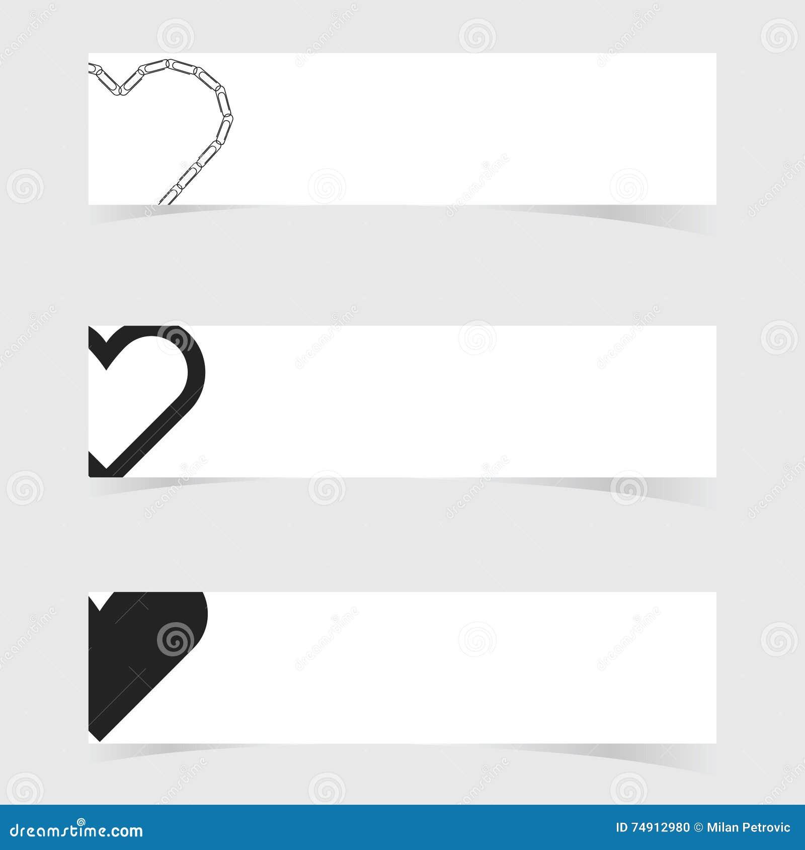 Insegna con l illustrazione stabilita di progettazione dell icona di amore del cuore