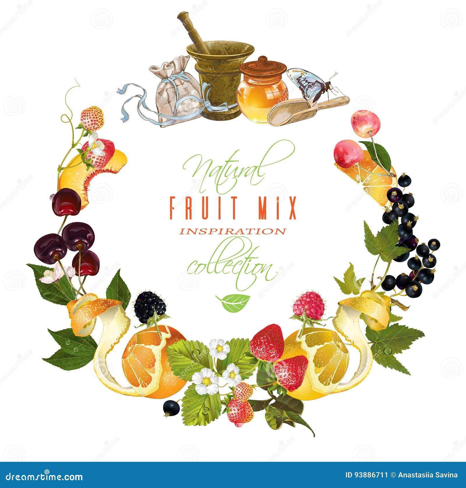 Insegna della bacca e della frutta