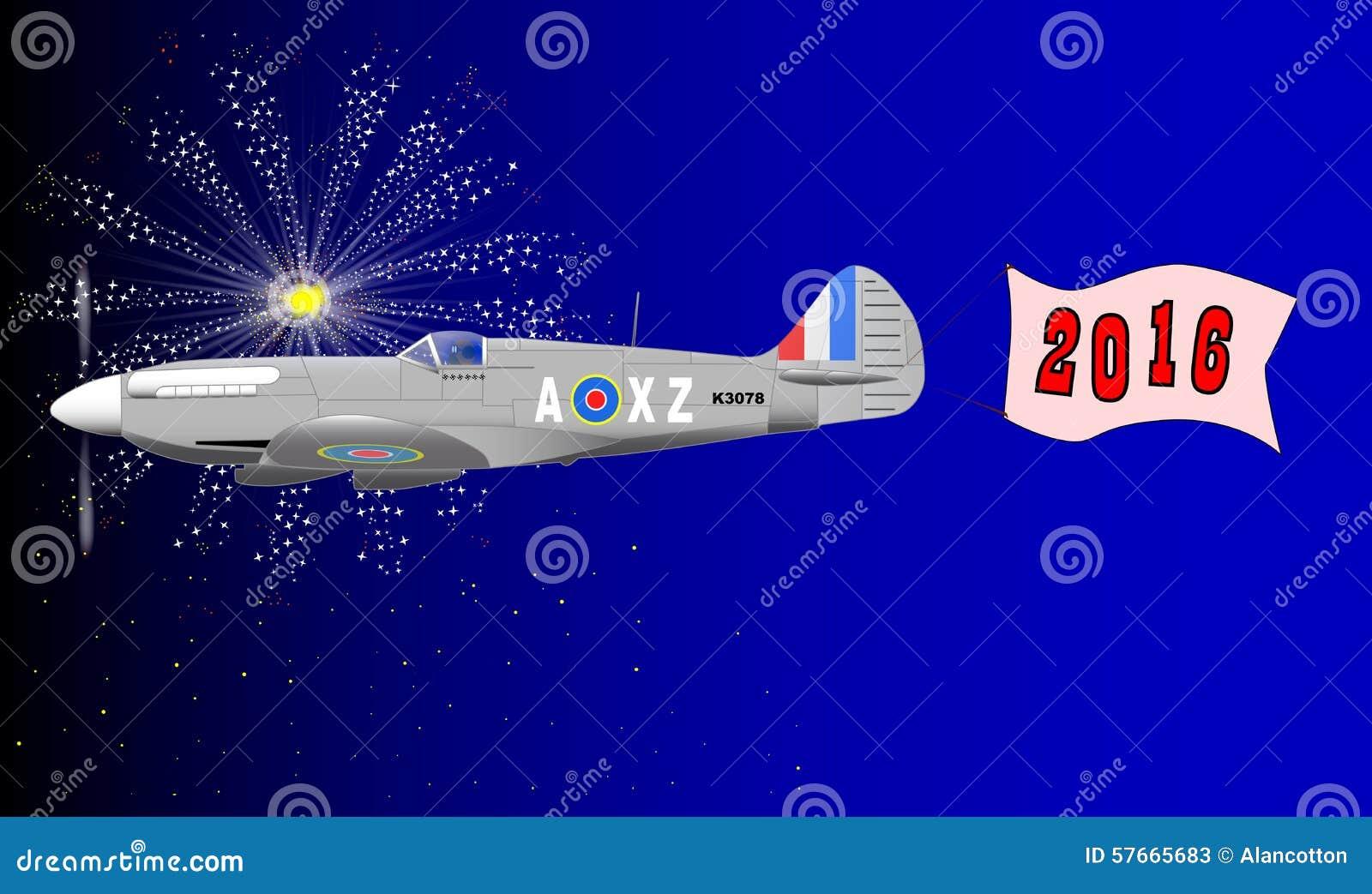 Insegna 2016 di aeroplano
