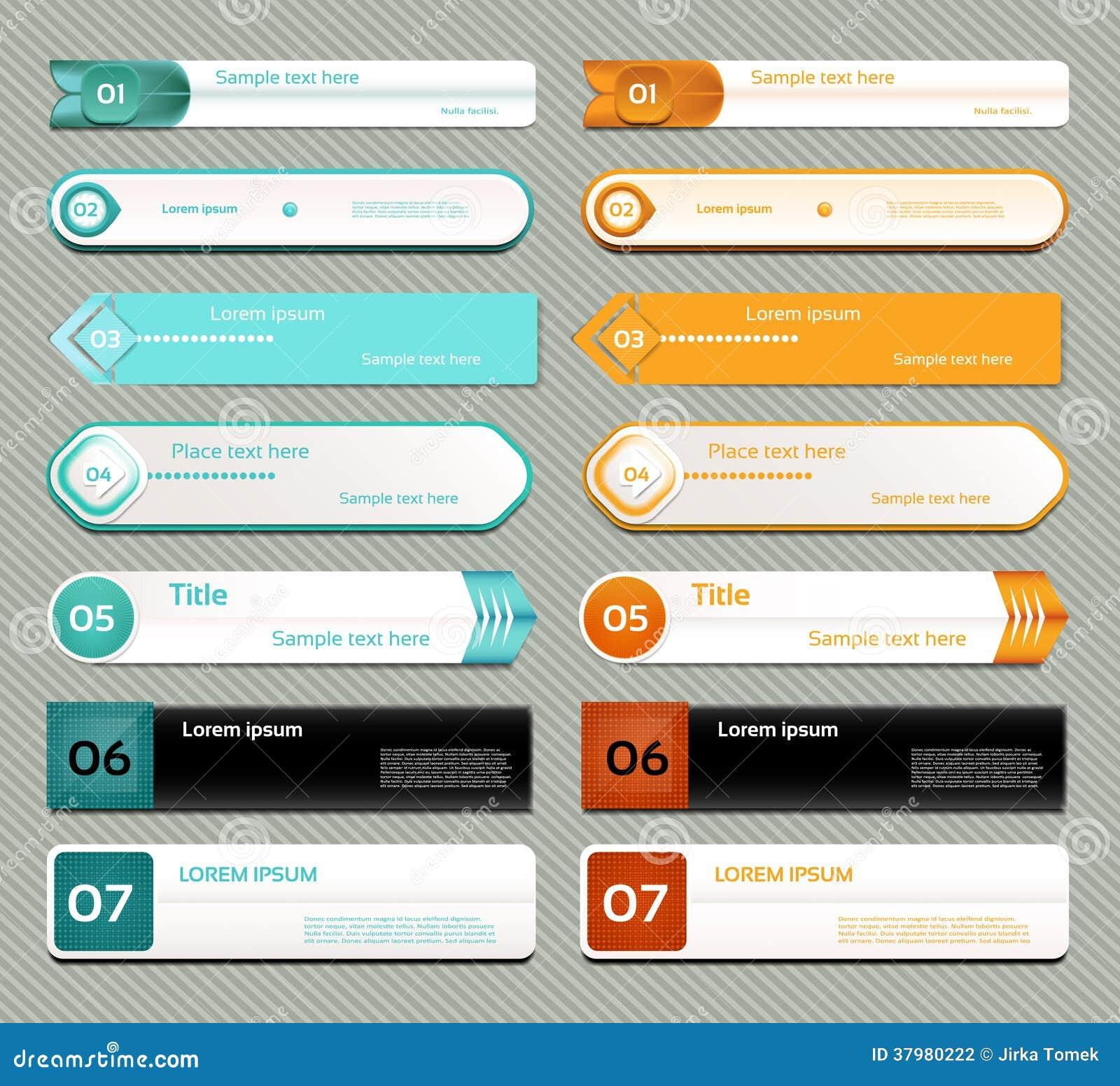 Insegna moderna di opzioni di infographics. Illustrazione di vettore. può essere usato per la disposizione di flusso di lavoro, il