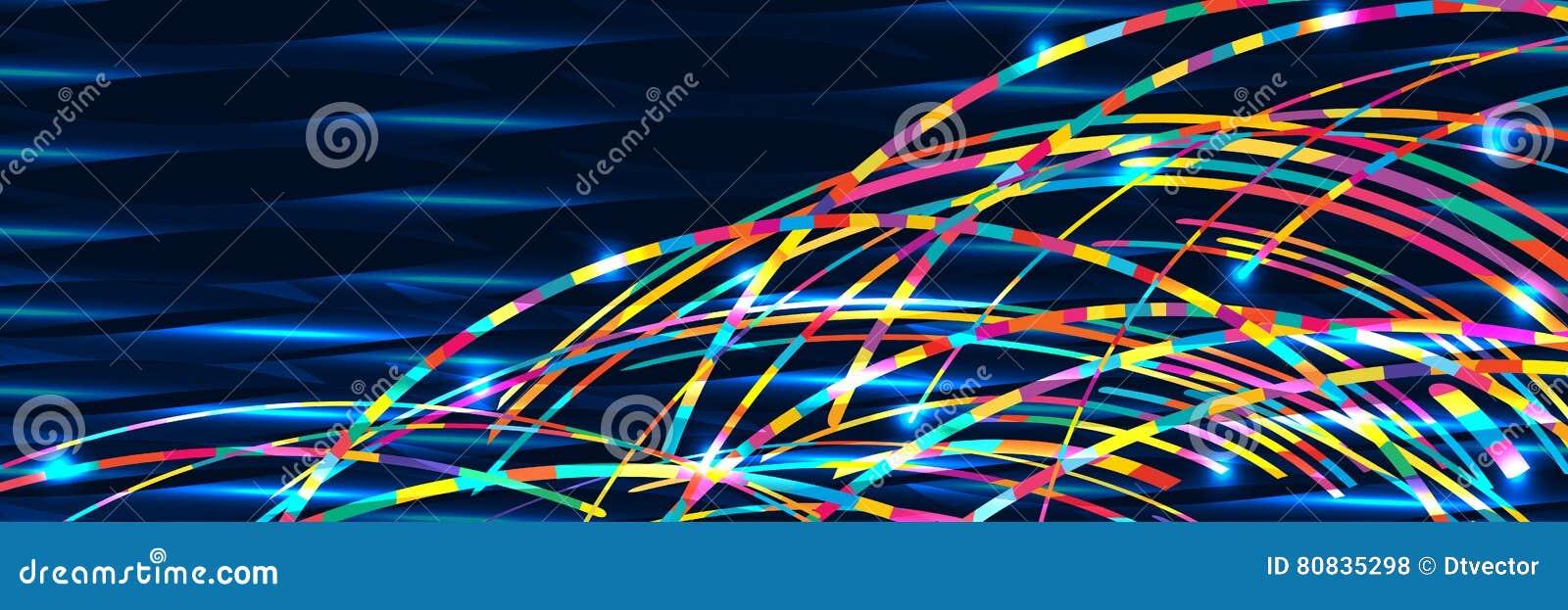 Insegna RGB del mare dell onda dell arcobaleno