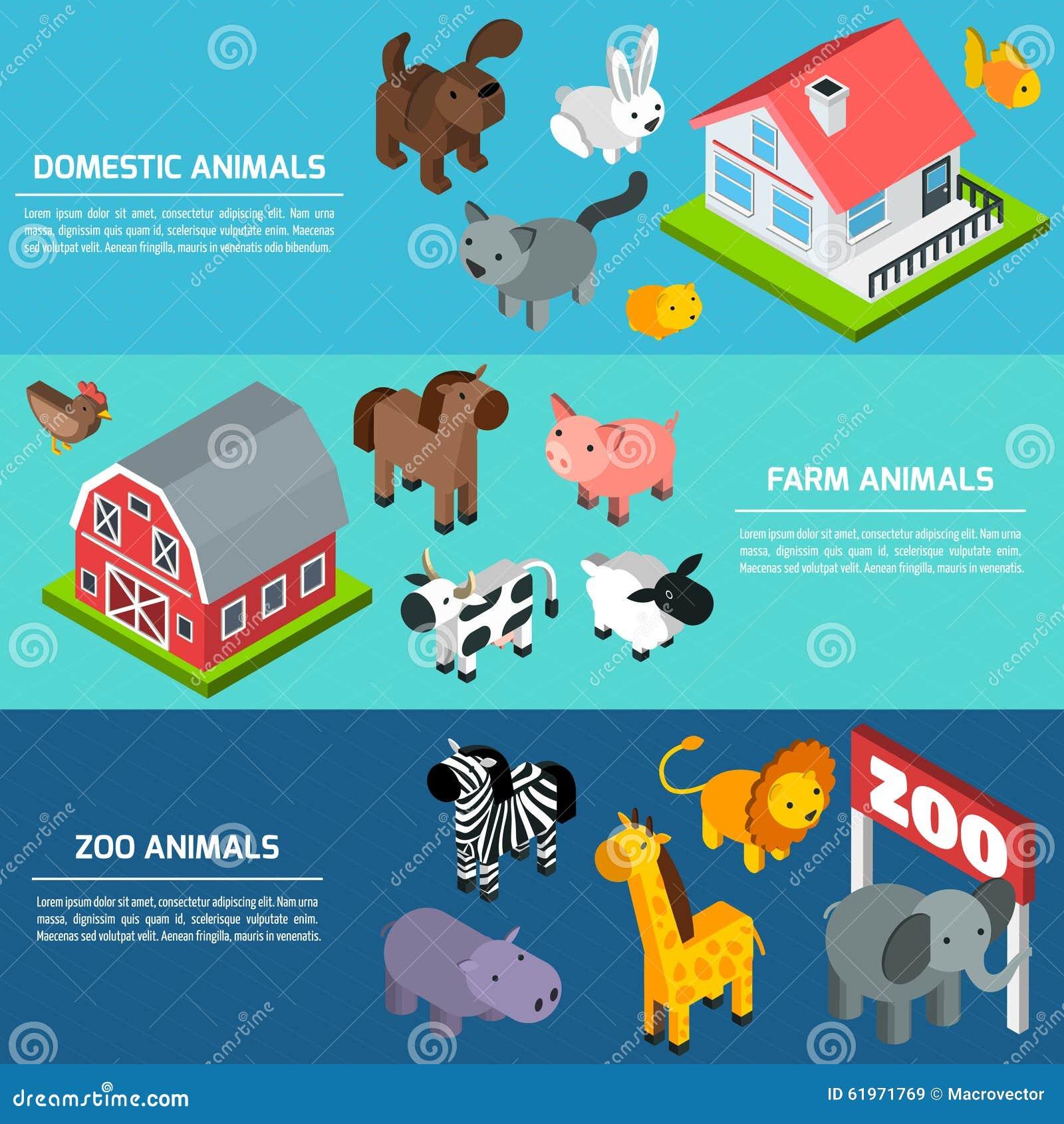 Insegne isometriche degli animali