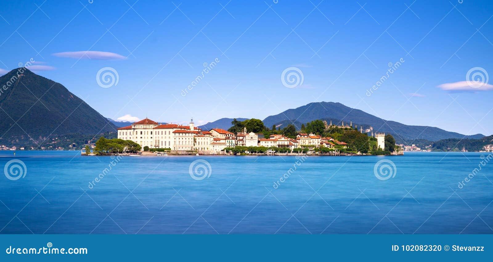 Insel Isola Bella im Maggiore See, Borromean-Inseln, Stresa P