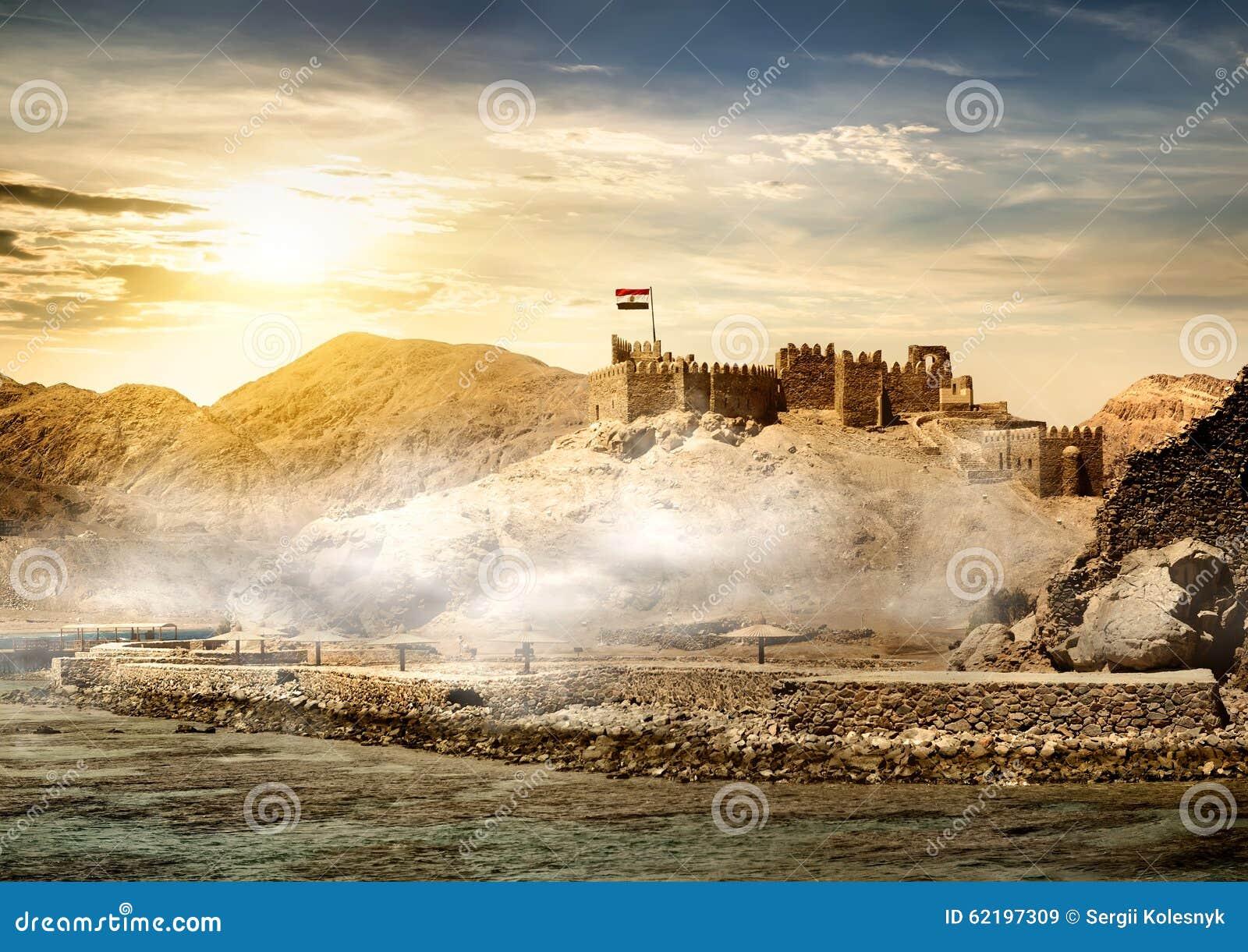 Insel von Pharaos in Taba