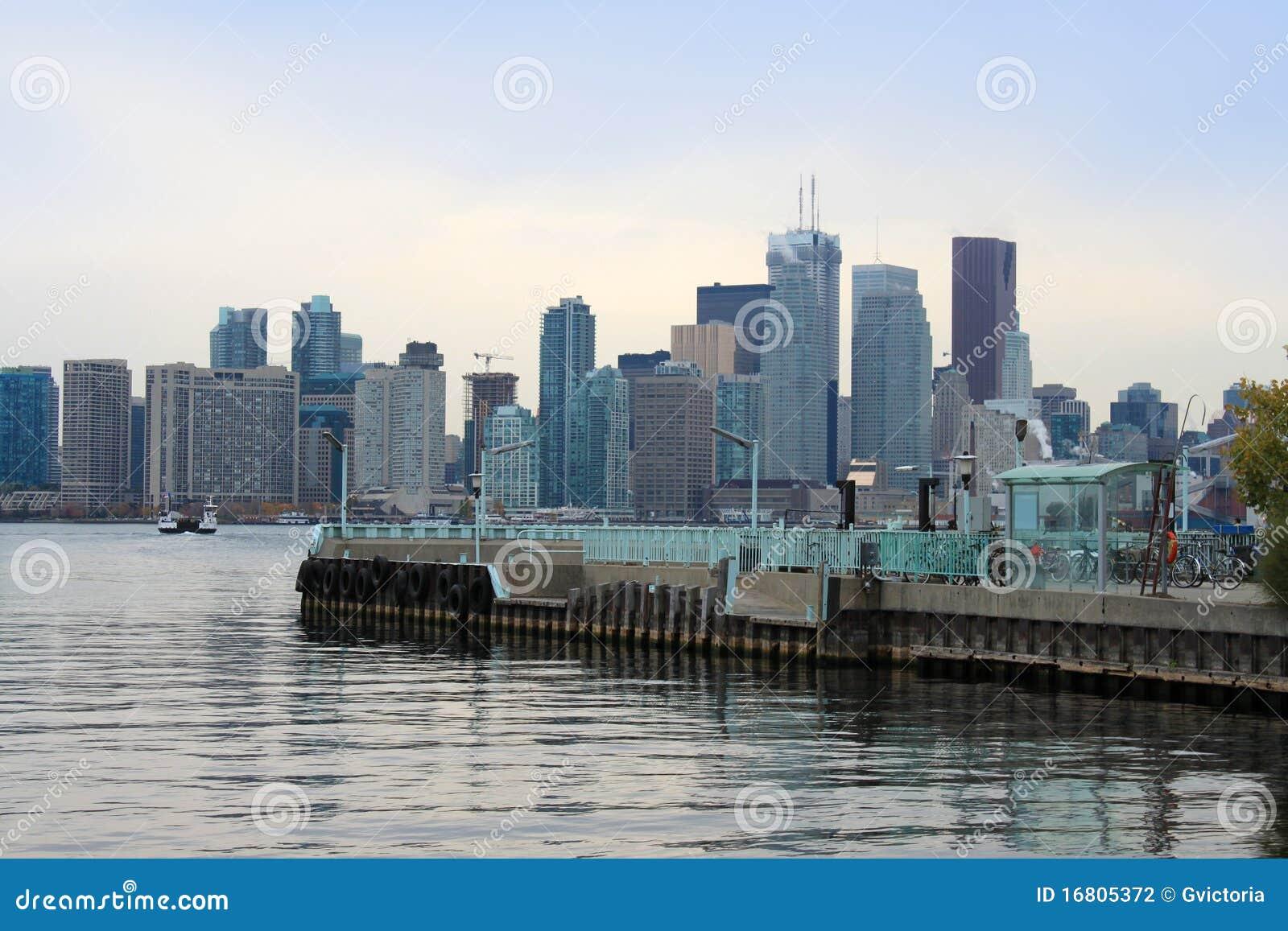 Inselpier des Bezirks, Toronto