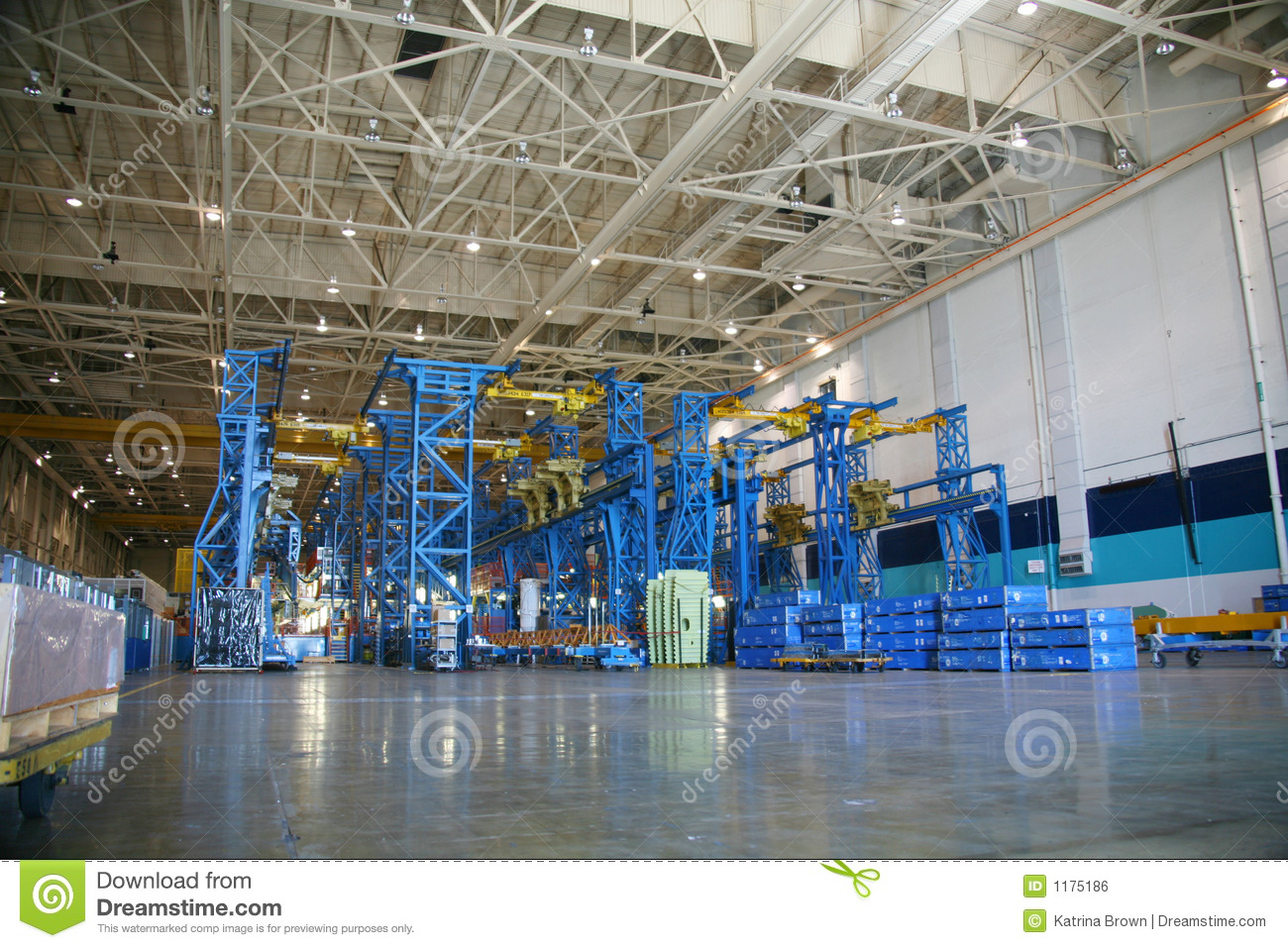 inside aerospace production facility - photo #2