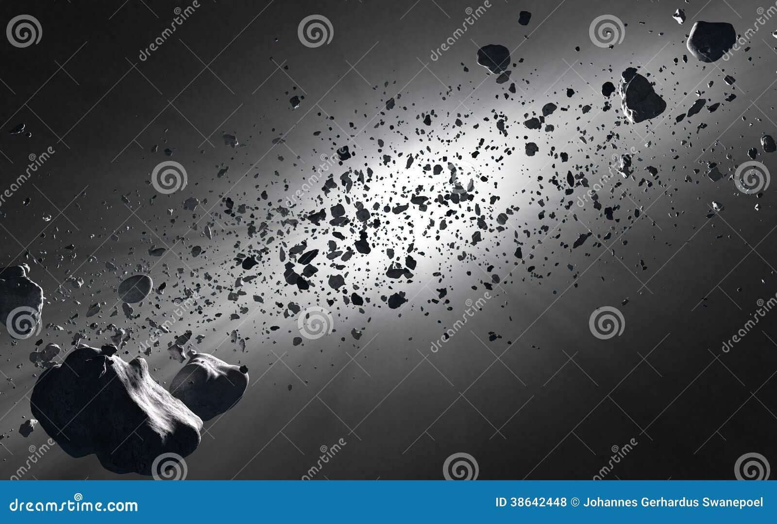 asteroid belt white background - photo #41