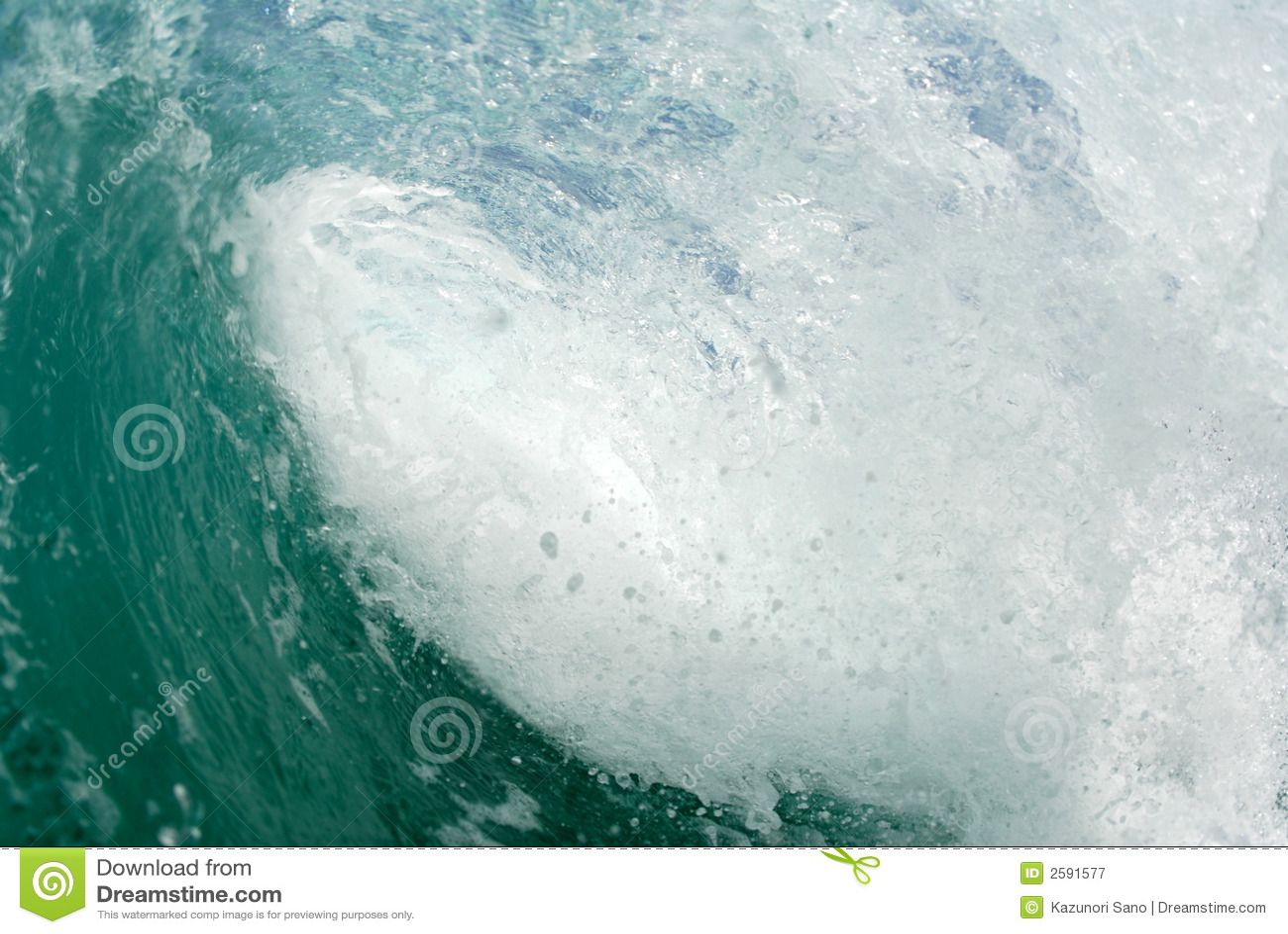 Inside the Barreling wave