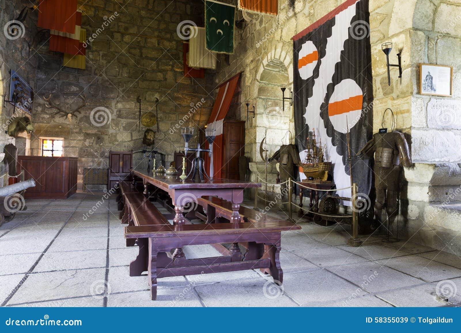 Inside Bodrum kasztel