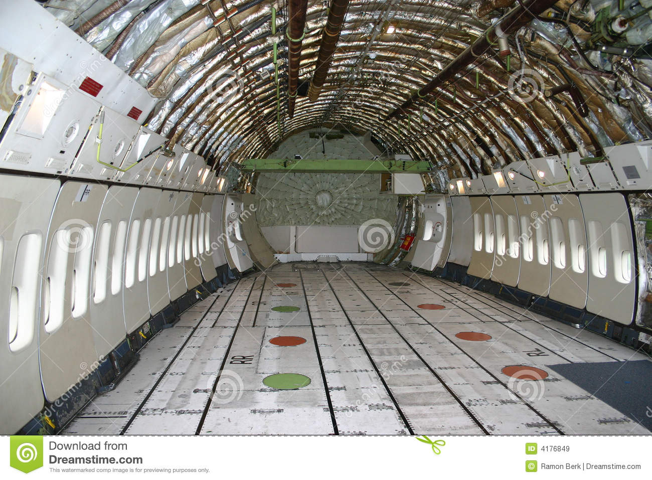 Inside a boeing 747 stock image image of pressure seat for Inside l interieur