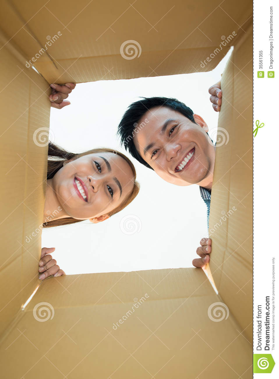 Inside The Box Royalty Free Stock Photo Image 35561355
