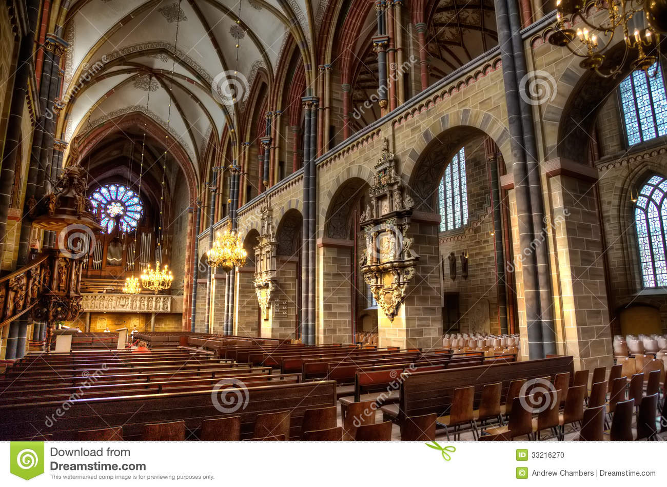 Inside bremer dom stock photo image of pews germany 33216270 - Inside mobel bremen ...