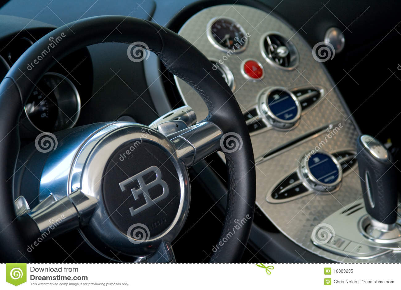Inside Bugatti Veyron Editorial Image Image Of Fast 16003235