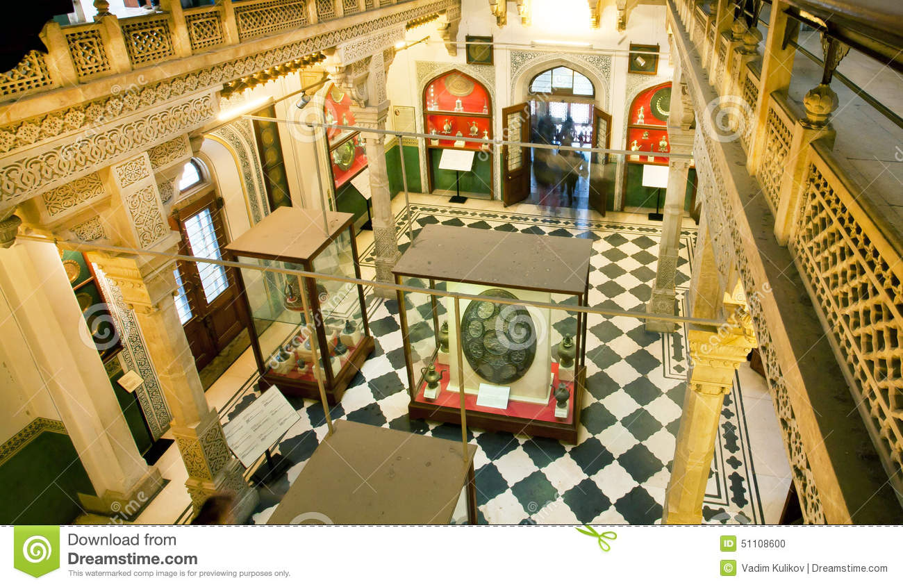 Inside The Building Of The Albert Hall Museum With