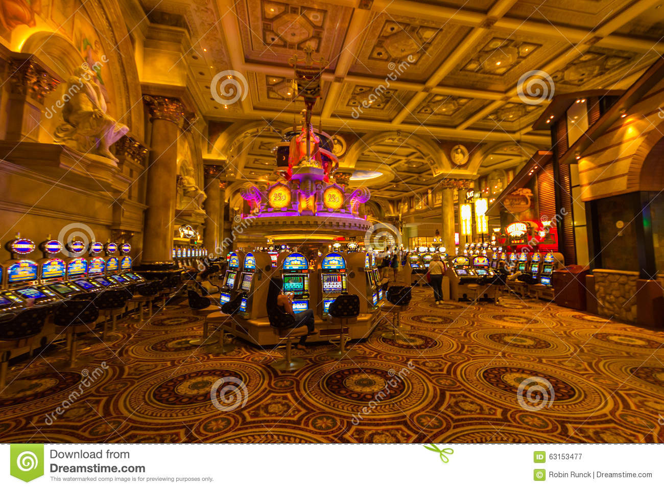 inside a vegas casino