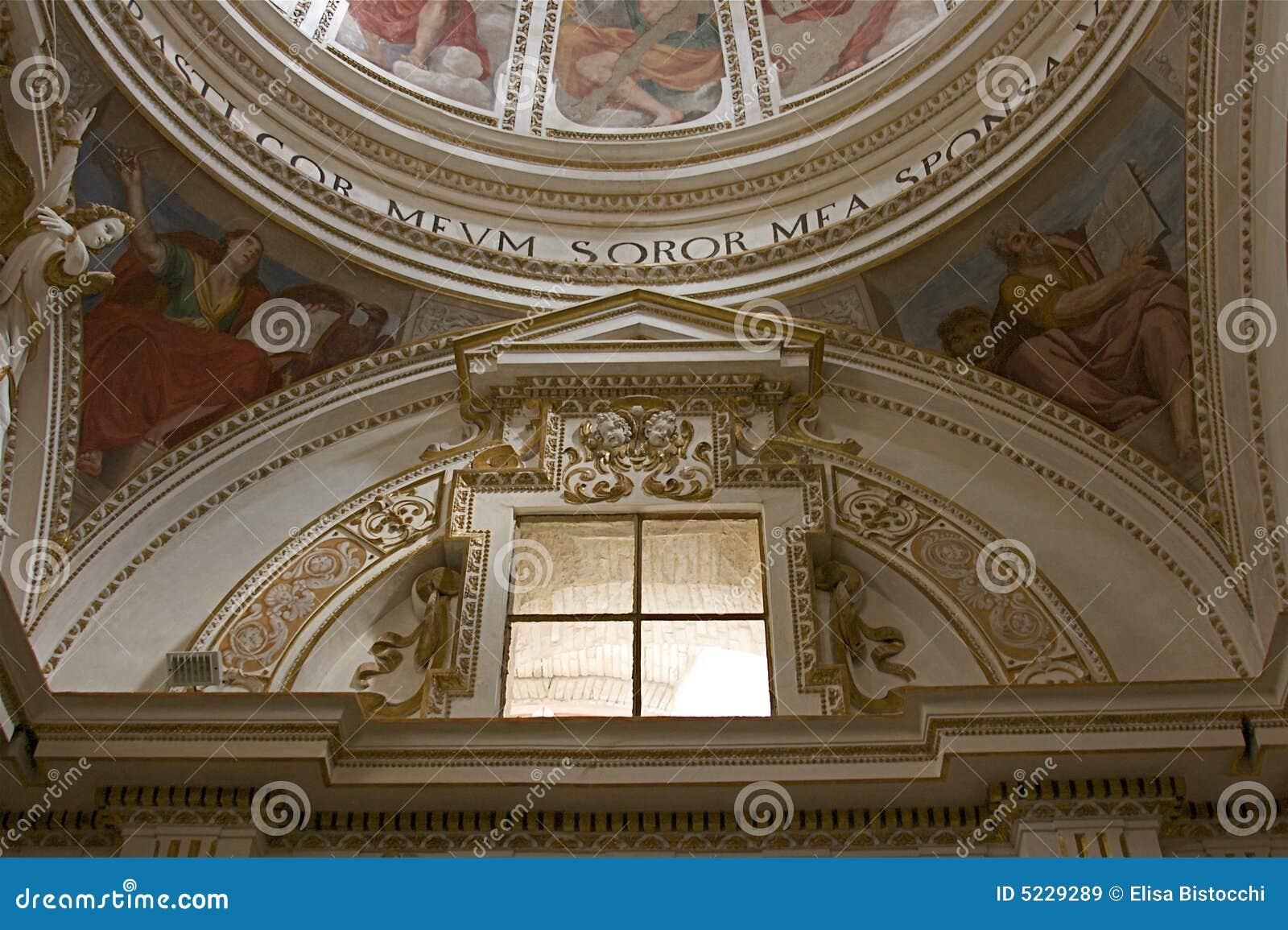 Inside of church, umbria