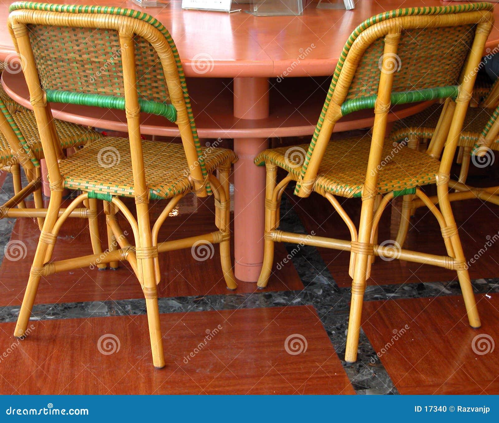 Inside coffee bar