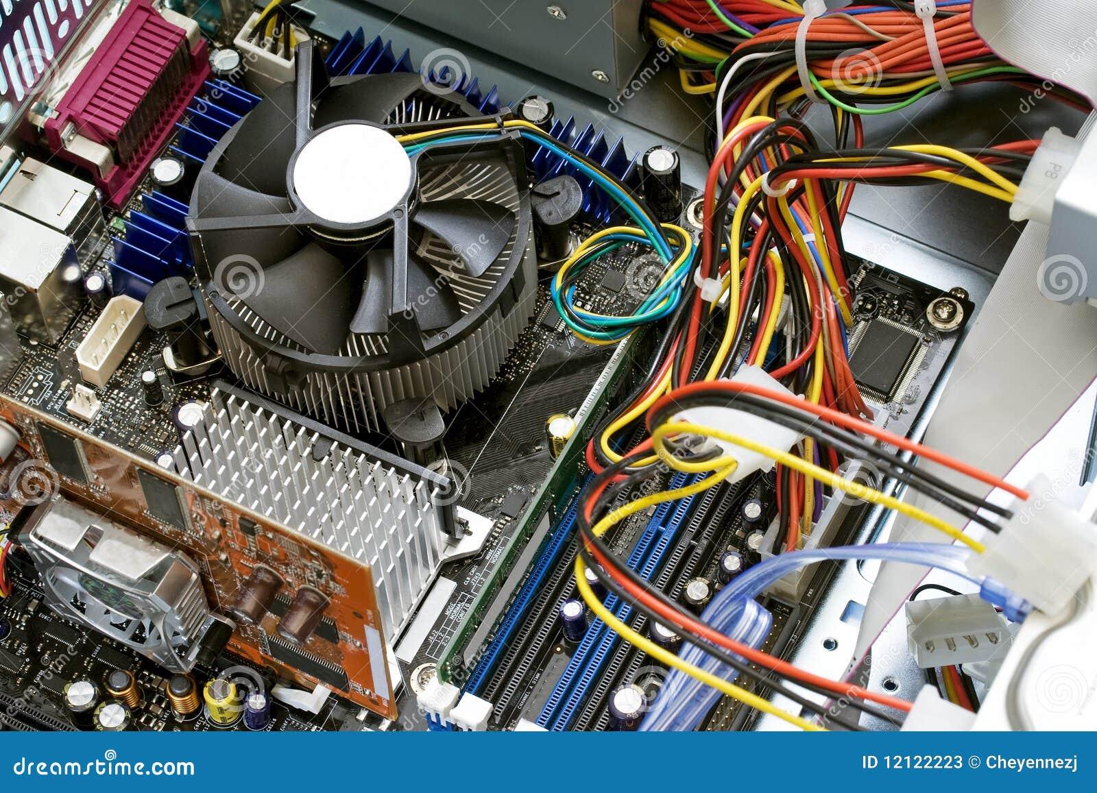 Inside A Computer Stock Photos Image 12122223