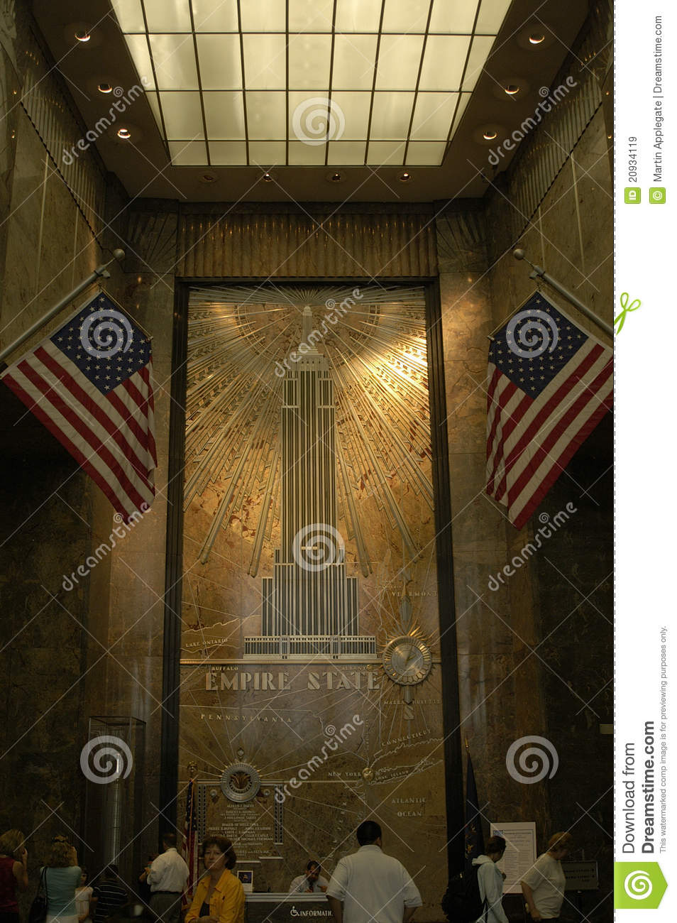 Inside The Empire State Building Editorial Stock Image  Image: 20934119 - Eiffel Tower Floor Plan