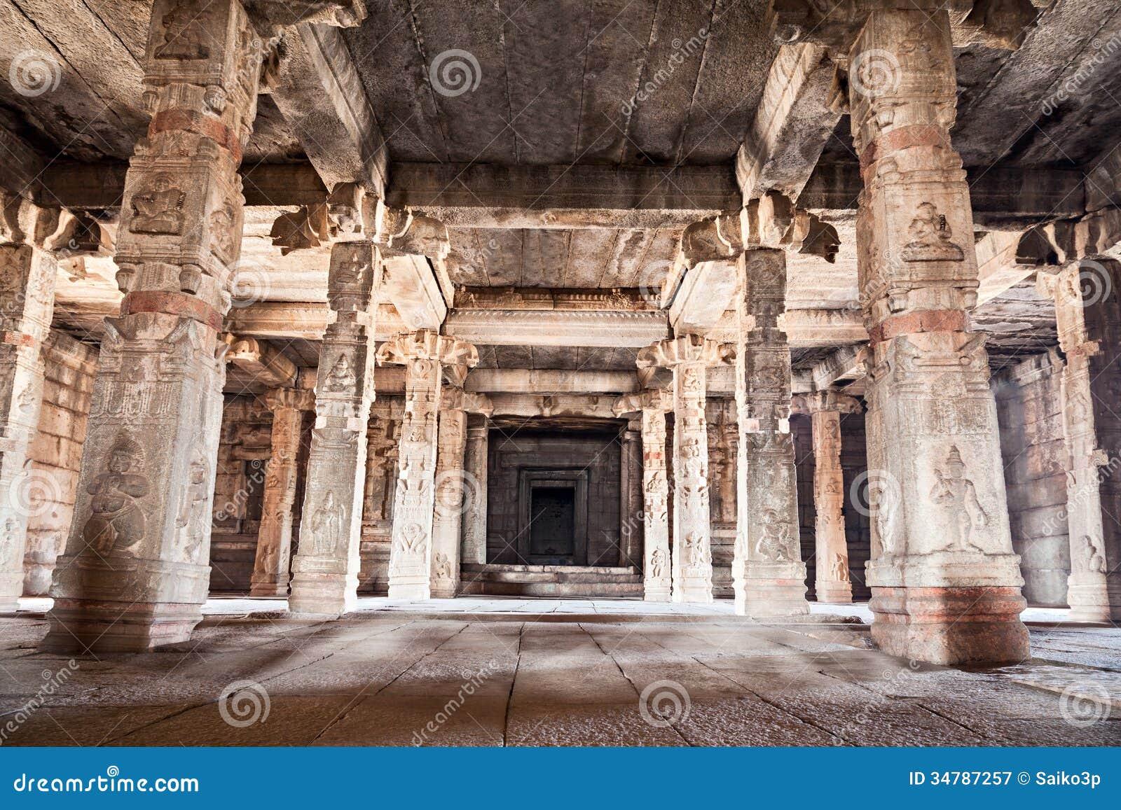 File:Inside Hindu temple Paramaribo.JPG   Inside A Hindu Temple