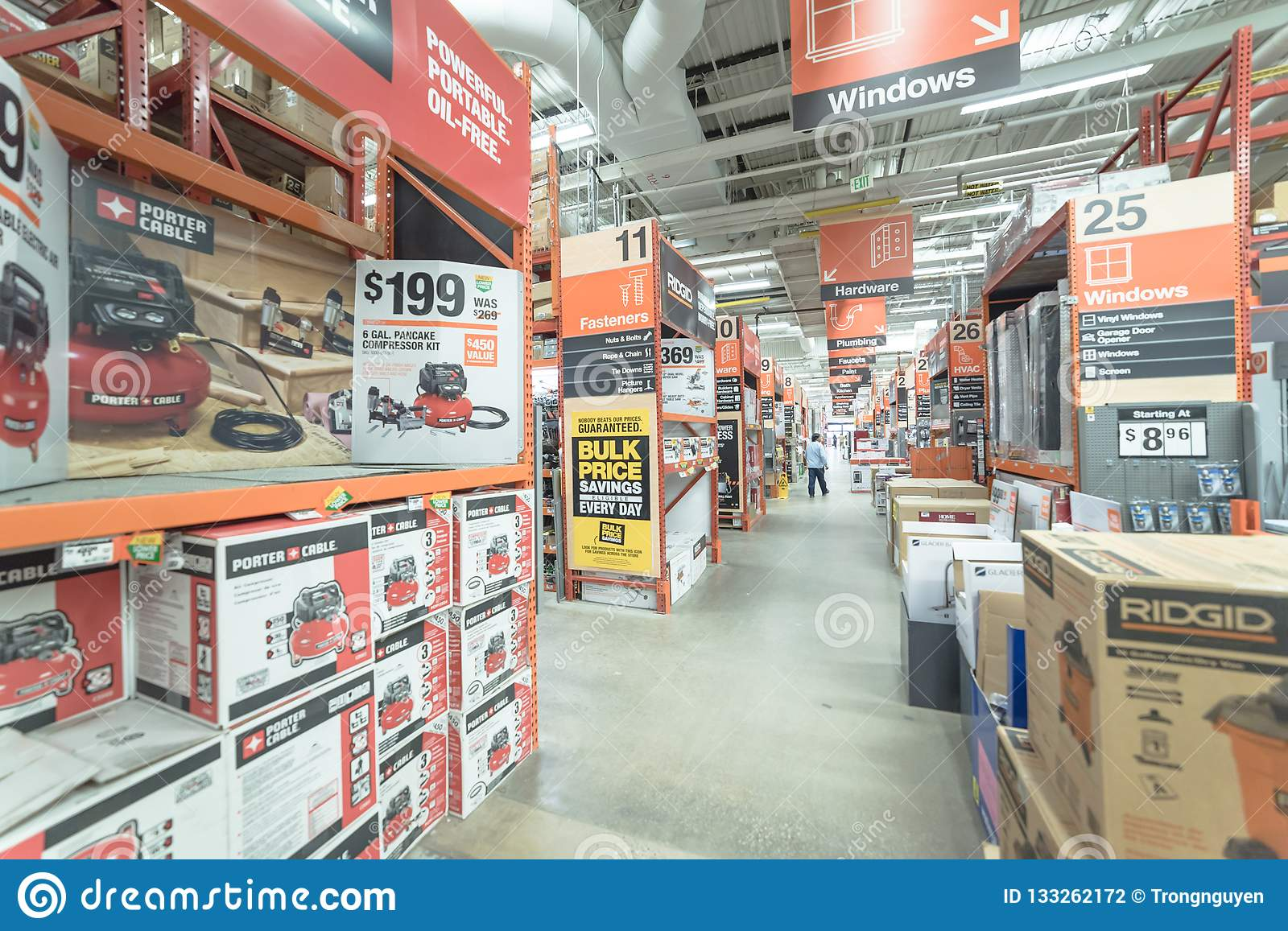Inside Home Depot Hardware Store In Dallas Texas America Editorial Photography Image Of Construction Home 133262172