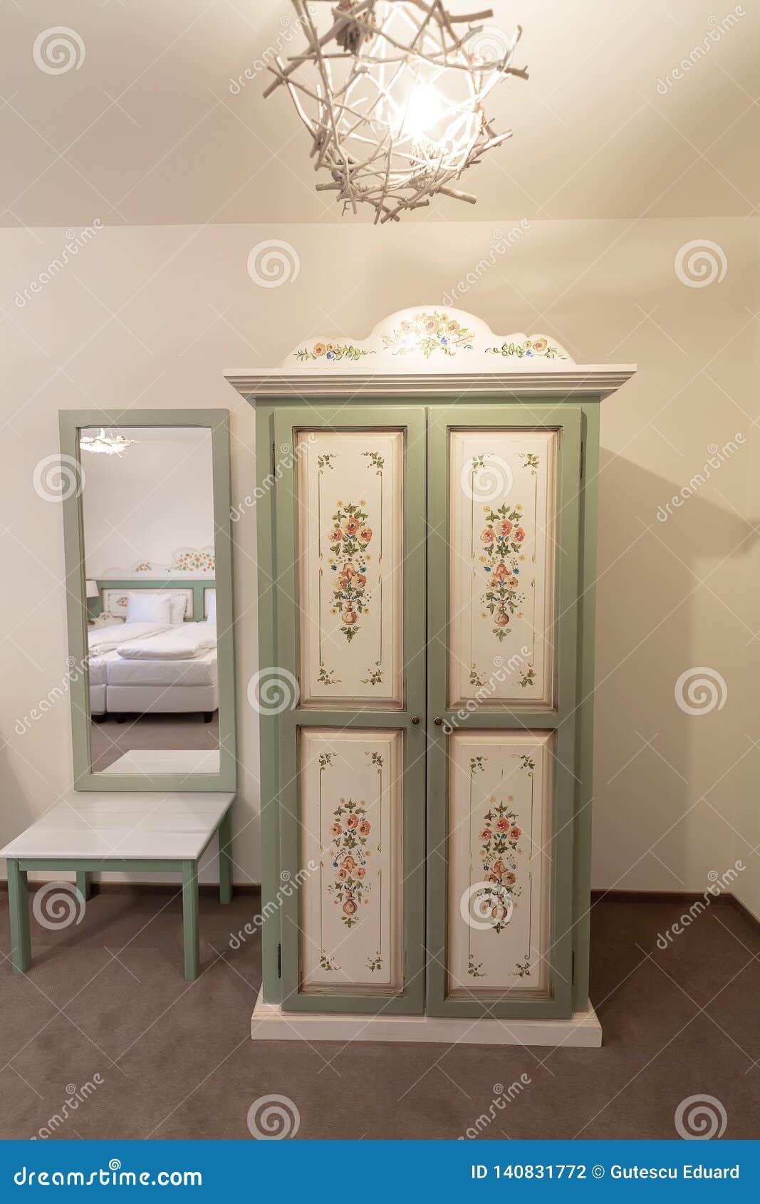 Hotel Room Furniture: Inside Hotel Room On Luxury Resort, Traditional Tourism